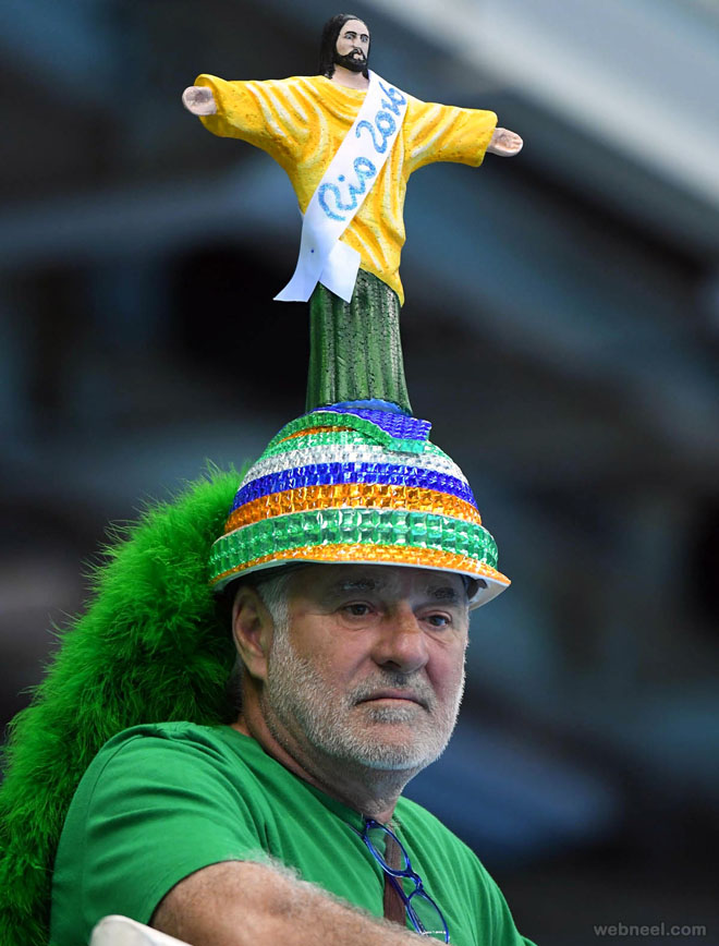 brazil fan best rio olympic photography
