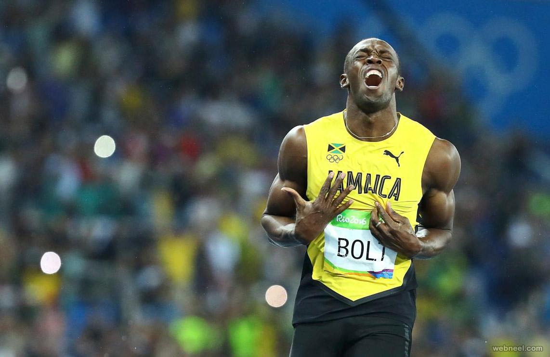 usain bolt best rio olympic photography