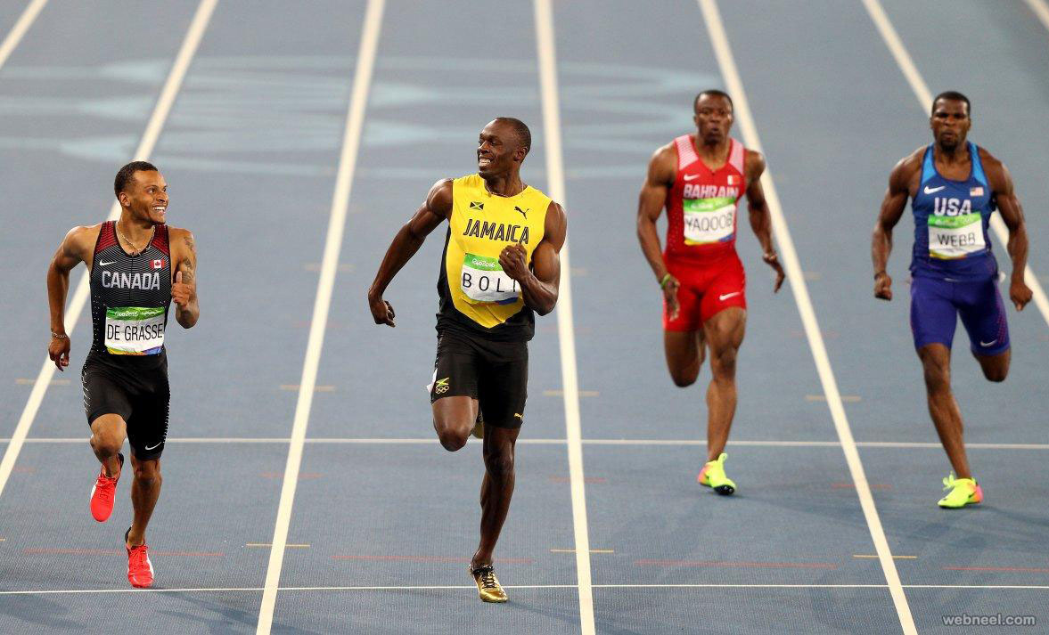 usain bolt sprinter best rio olympic photography