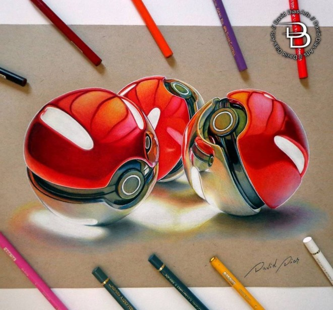 Color Pencil Drawing by David Dias