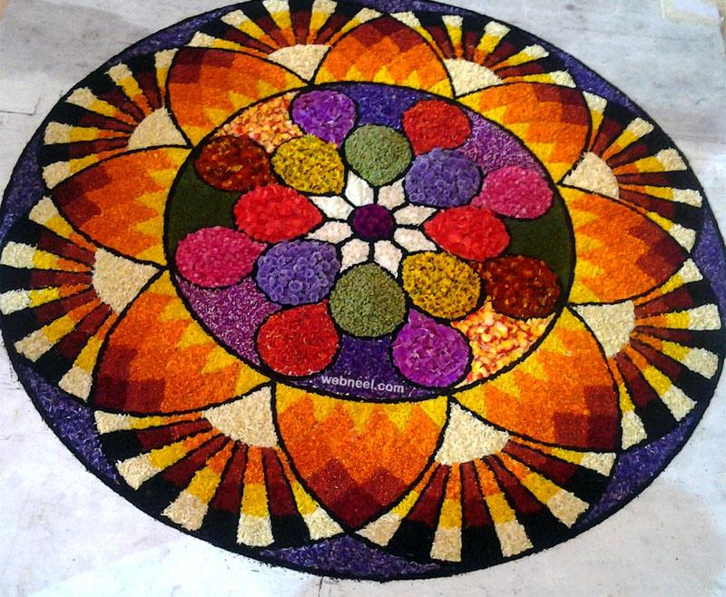 beautiful pookalam design