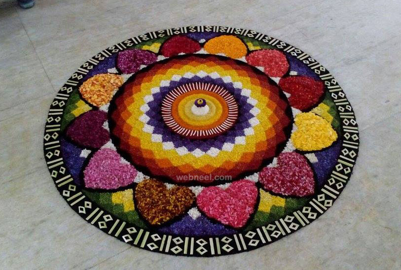 beautiful pookalam design