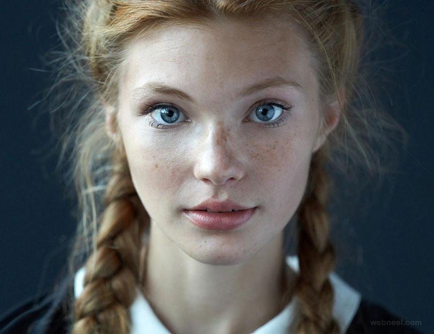 portrait photos girl by alexander vinogradov