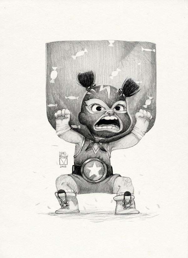 pencil drawing teddy