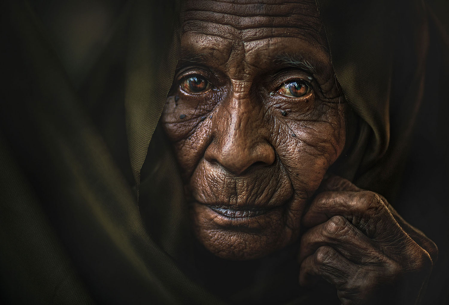 portrait photography homeless by muhamad salehbin