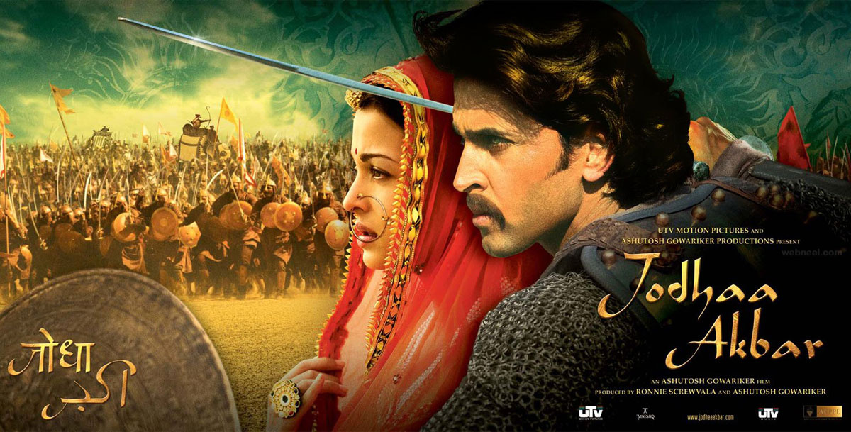 india movie poster design bollywood jodhaakbar