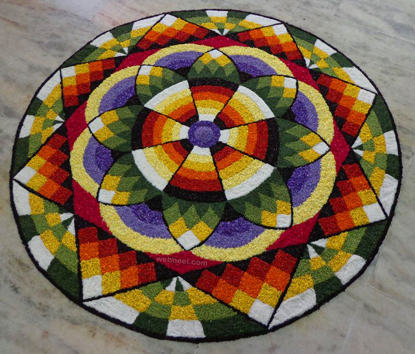 onam pookalam competition