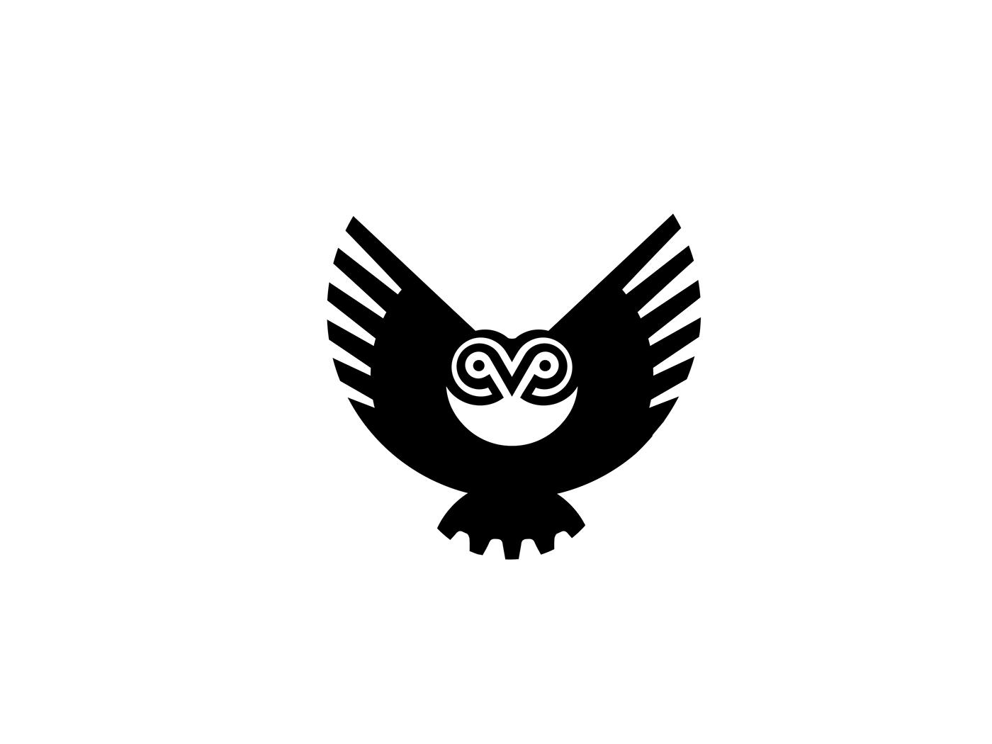 logo design owl