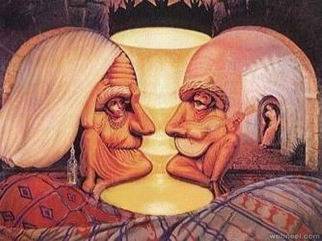 Salvador Dali Famous Surreal Optical Illusion Paintings