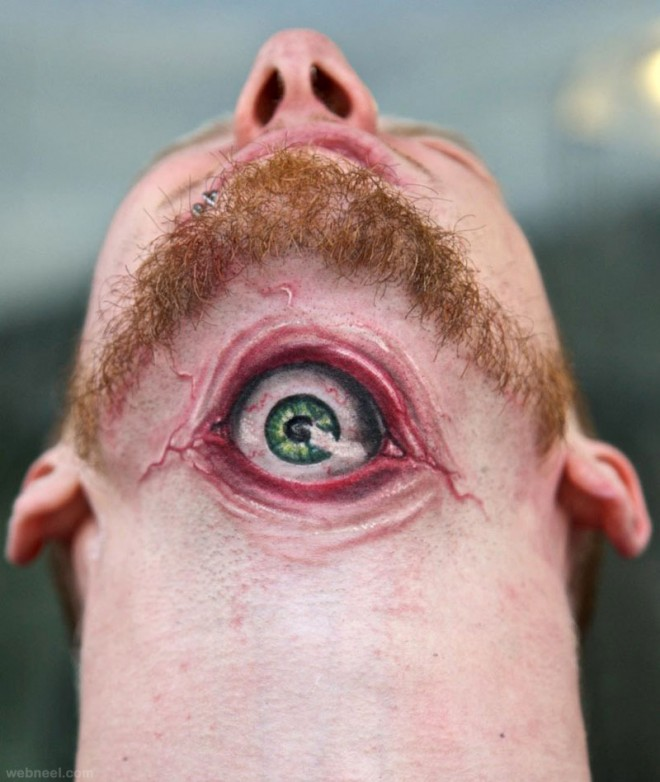3d tattoo eye