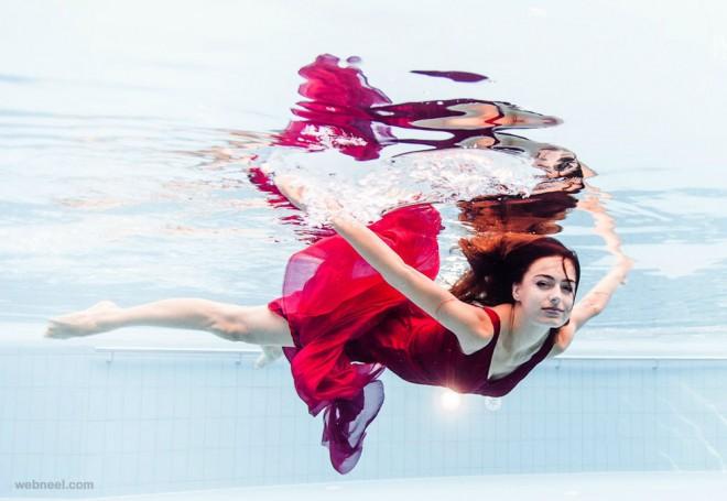 underwater photography woman by rafal makiela 13