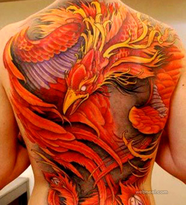 phoenix tattoo woman