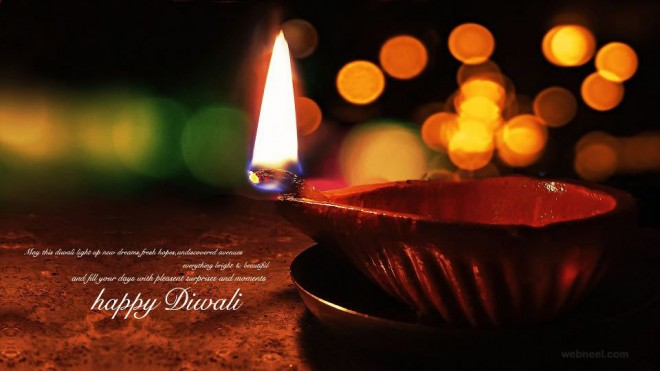 Top 3 Sweet Lovely Happy Divali 2014 SMS, Quotes, Messages In Hindi For Facebook And WhatsApp
