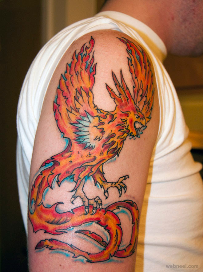 phoenix tattoo art