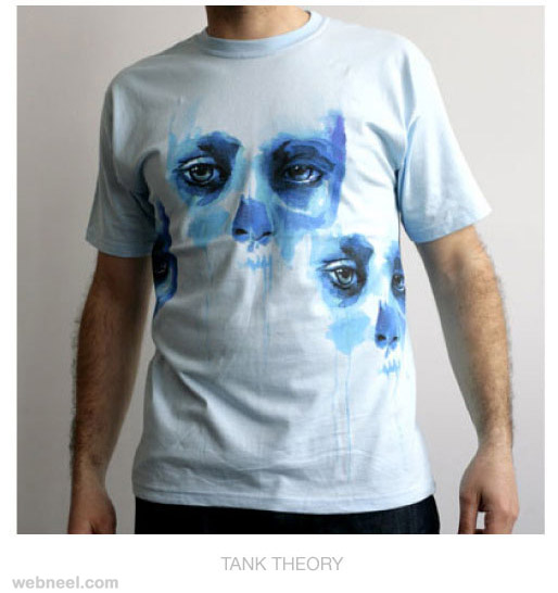 tshirt watercolor painting by marion bolognesi