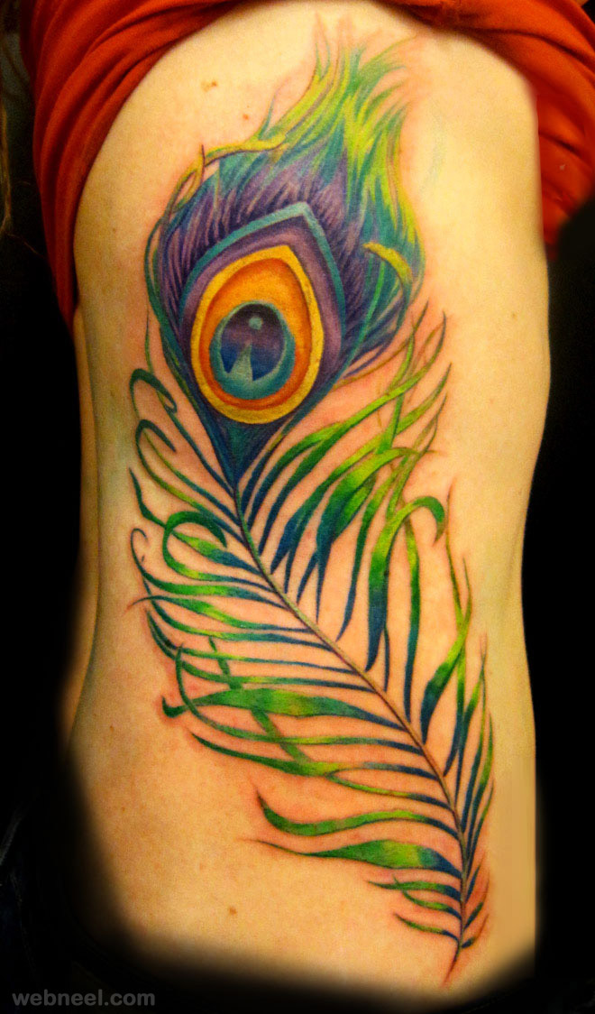 35 best tattoos and tattoo ideas for your inspiration for Peacock feathers tattoos