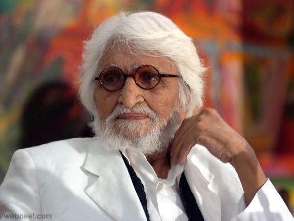 famous indian artist mfhusain