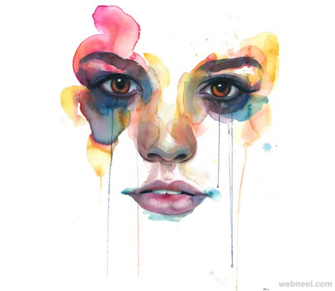 watercolor artwork