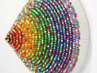 colorful-crayon-sculpture