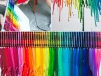 crayon-melting-art