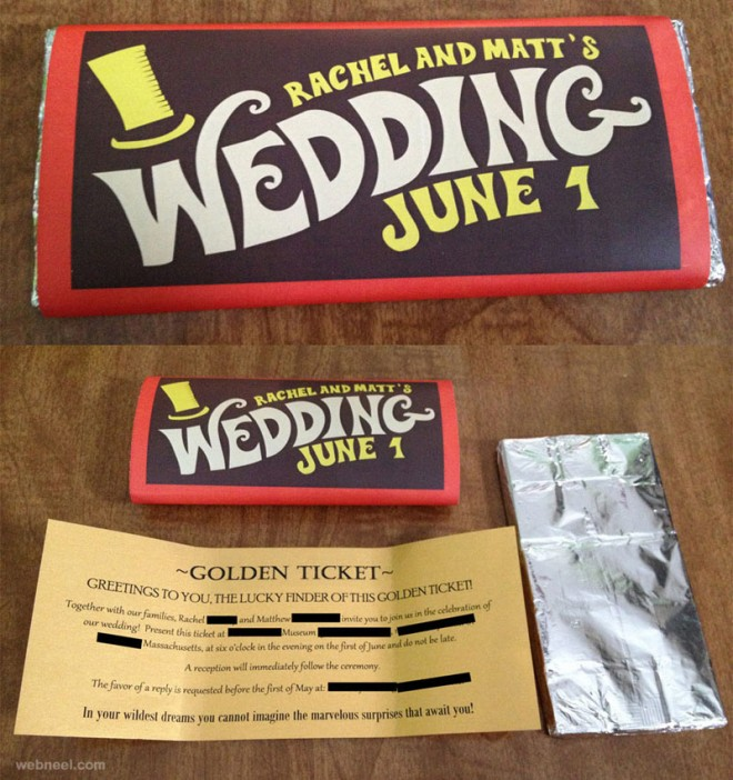 25 Creative and unusual Wedding Invitation Card Design Ideas – Innovative Marriage Invitation Cards