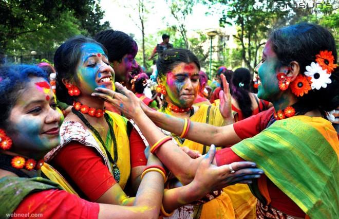 candid photography holi india