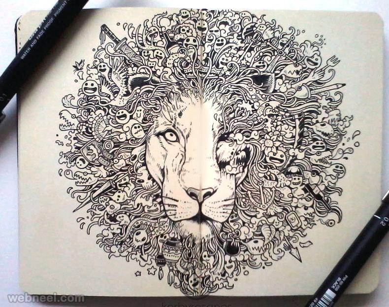 doodle art kerbyrosanes