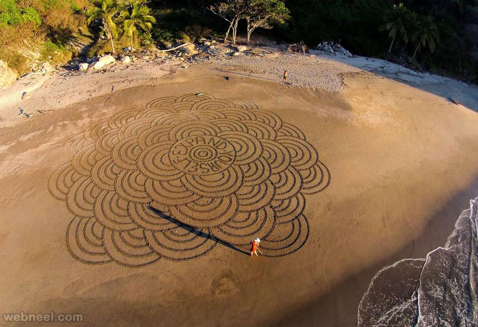 best beach art