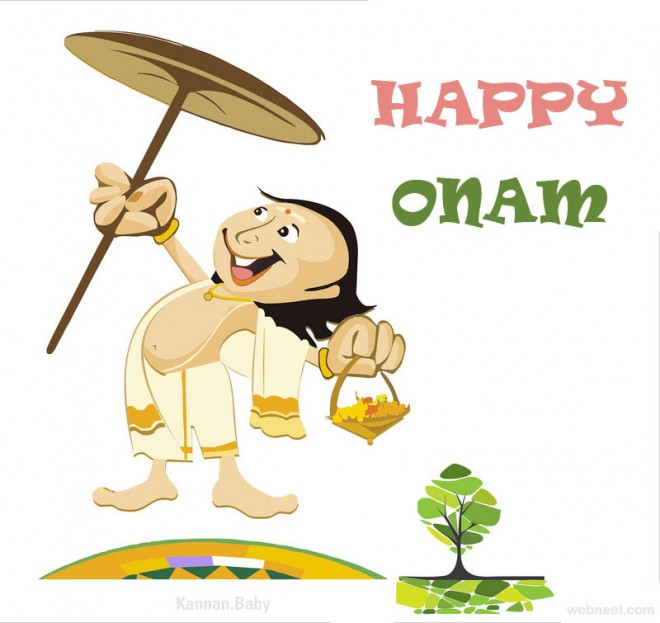 25 Beautiful Onam Greeting Card Designs And Onam Wishes