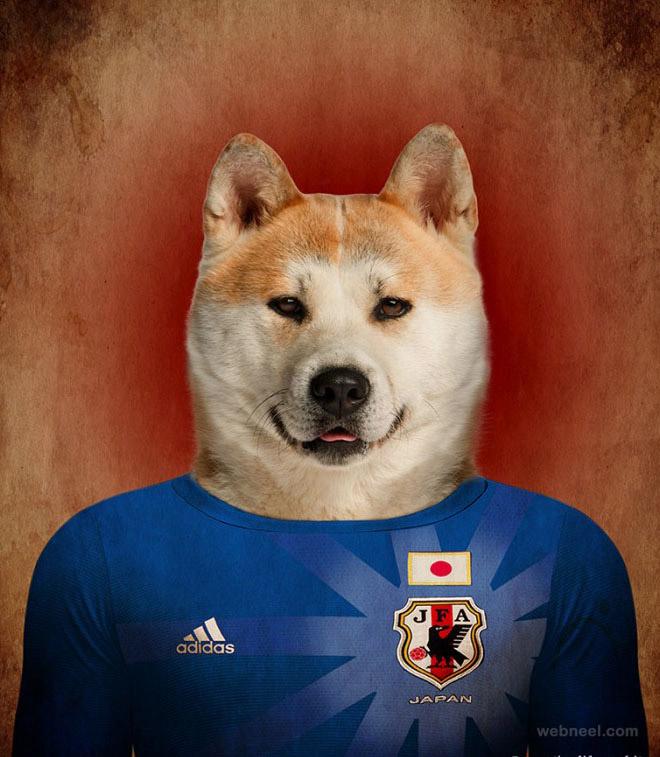 photo manipulation dog