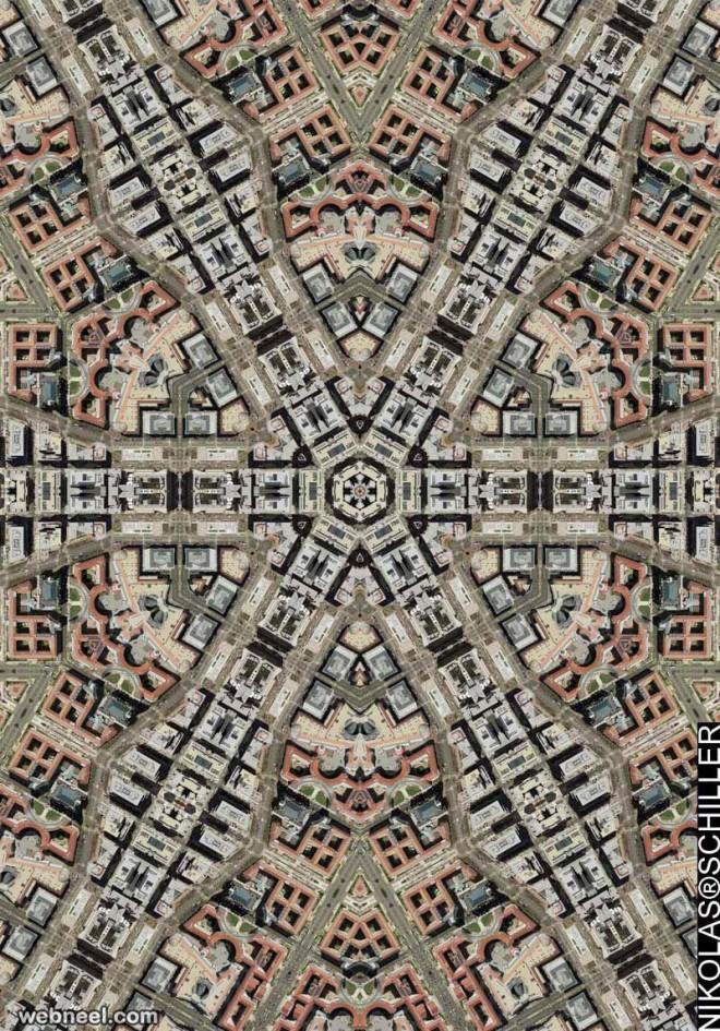 aerial photo city triangle