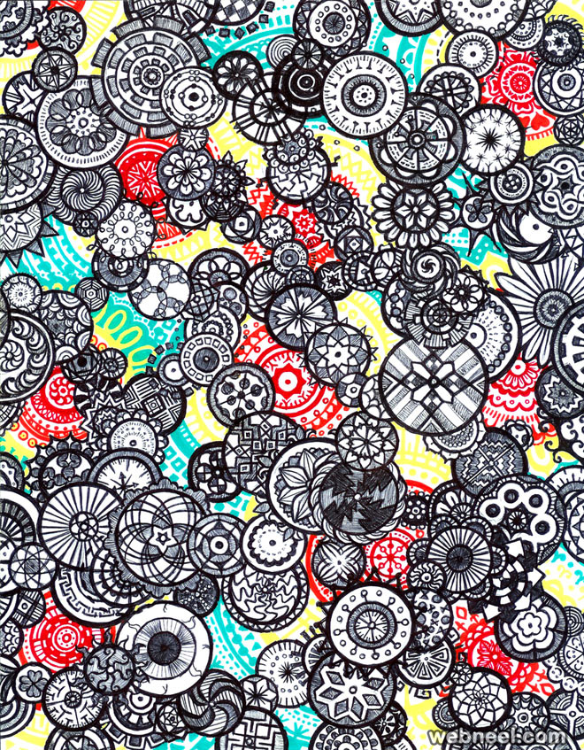 doodle art michelle