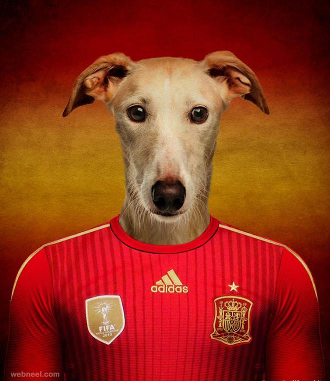 dog photo manipulation