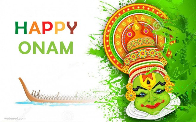 beautiful onam greeting card designs and onam wishes pictures, Greeting card