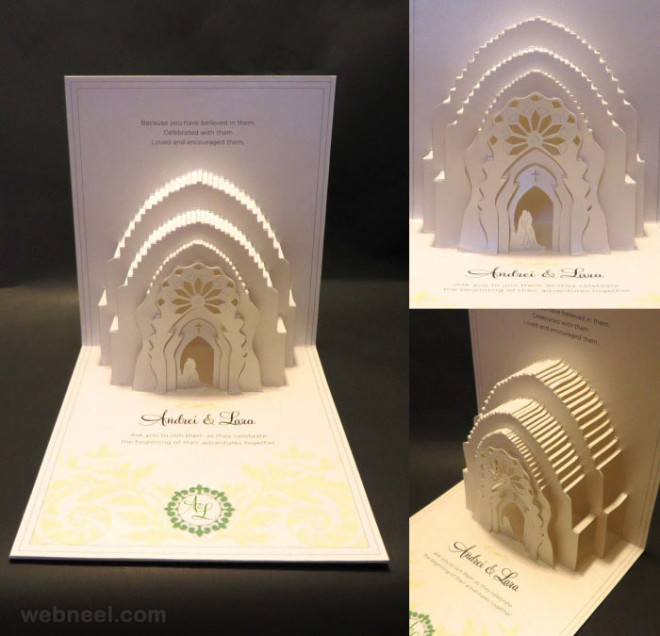 25 Creative and unusual Wedding Invitation Card Design Ideas