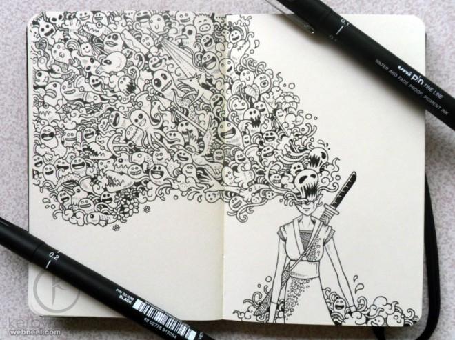 doodle cute kerbyrosanes