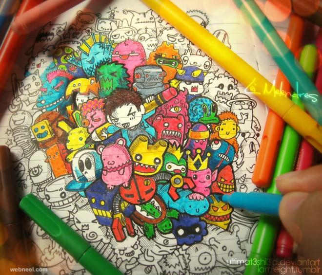 doodle color lei melendres