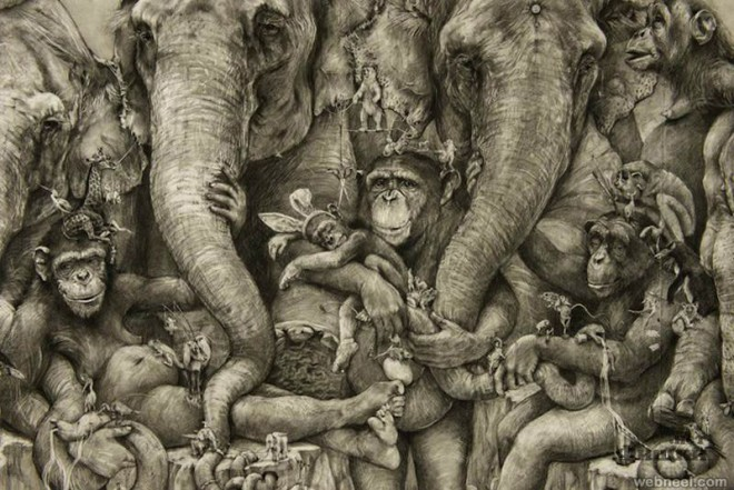 30 amazing pencil drawings around the world for your for Your paintings are amazing