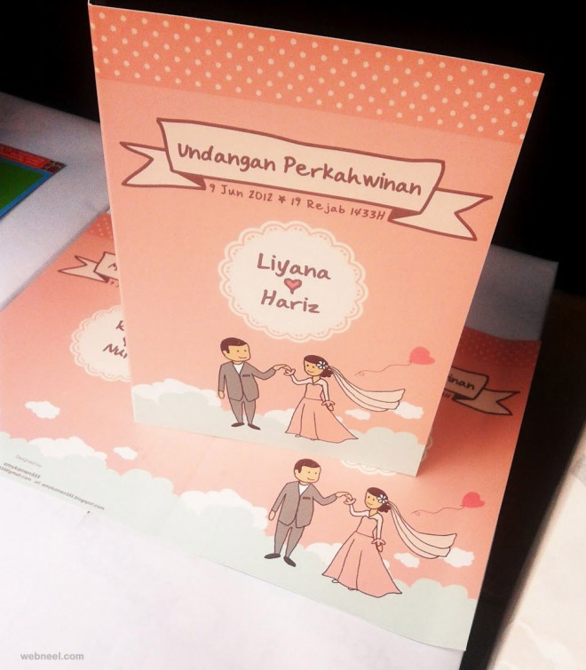 25 Creative And Unsual Wedding Invitation Card Design Ideas