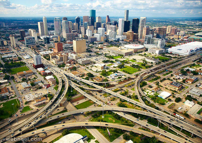 aerial photography houston