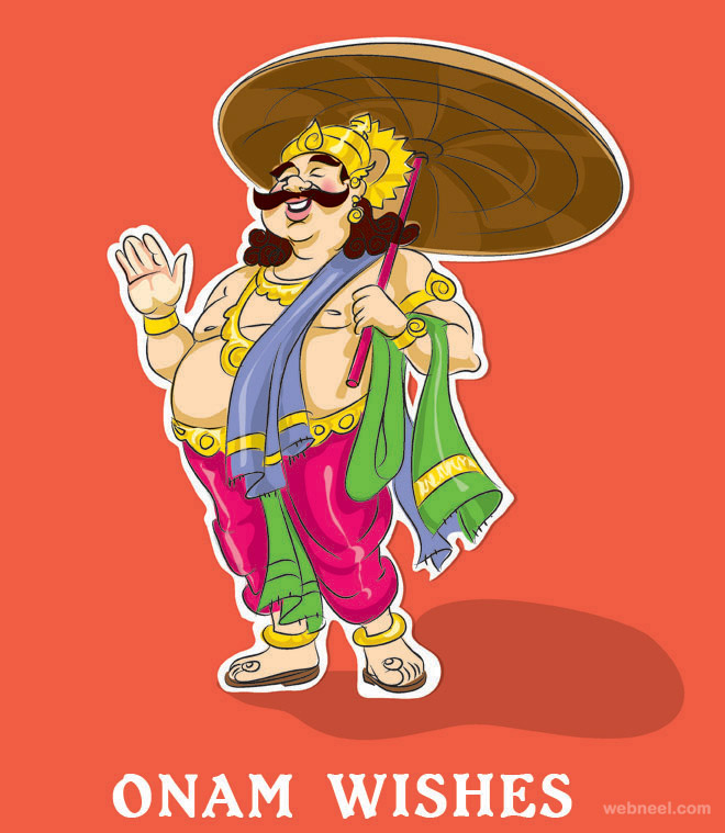 onam greetings mahabali maveli