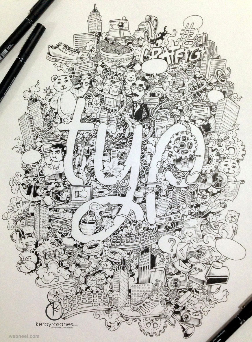 doodles kerbyrosanes