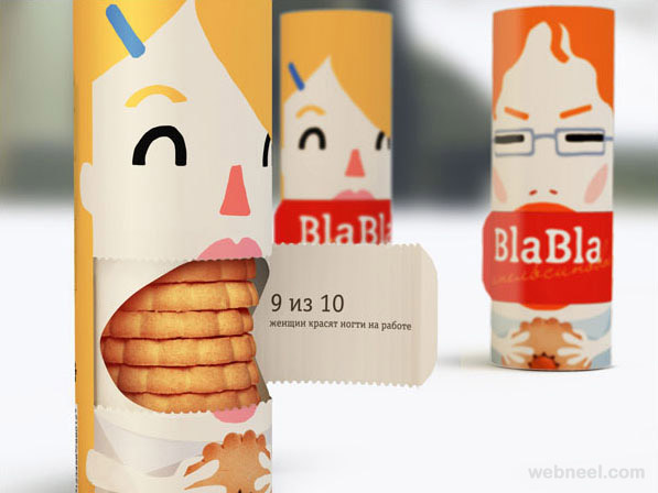 biscuit food packaging design idea - Design Idea
