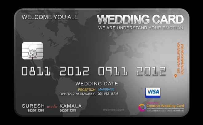 Creative Wedding Invitations gangcraftnet – Innovative Marriage Invitation Cards