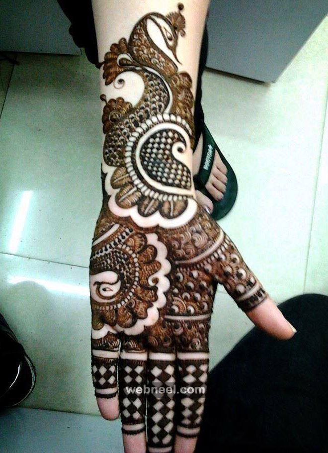 Mehndi Design Full Hand 11