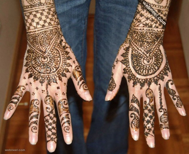 indian mehndi design