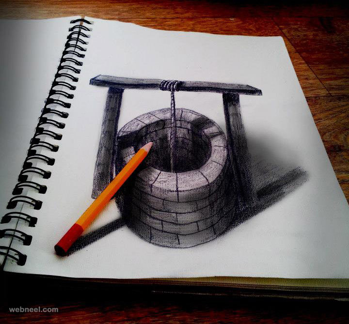 3d drawing art