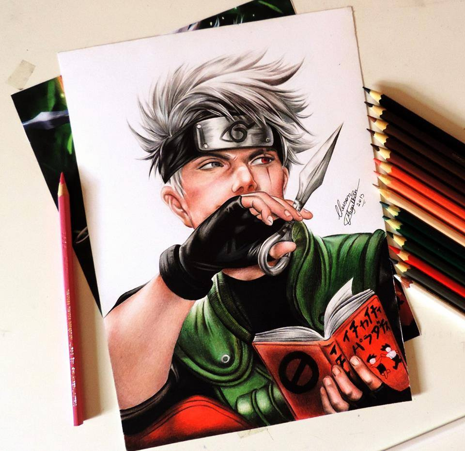 Anime Art Drawing By Cleison Magalhaes