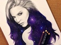 Color pencil drawing by Paparwee S