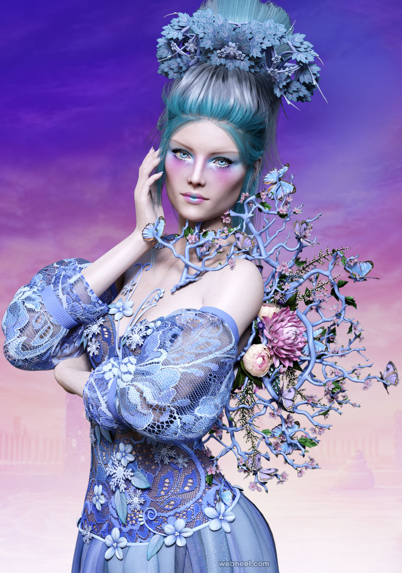 queen daz3d models